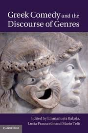 cover for Greek Comedy and the Discourse of Genres