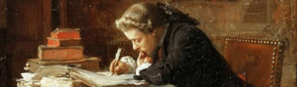 Meissonier, Young Man Writing