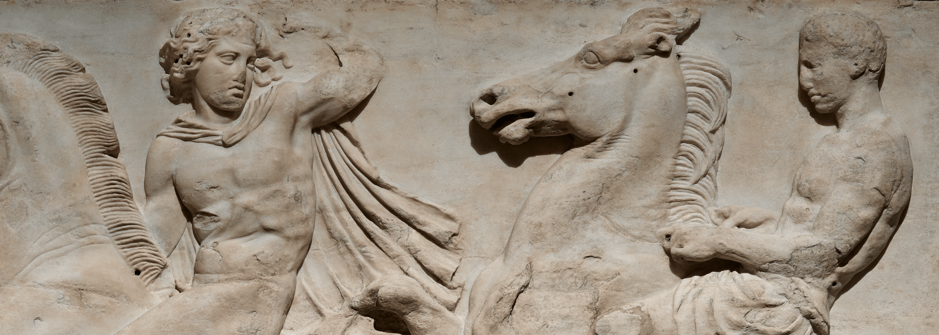 West frieze of the Parthenon (detail) © The Trustees of the British Museum