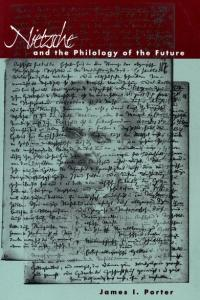 cover for Nietzsche and the Philology of the Future