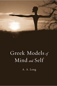cover for Greek Models of Mind and Self