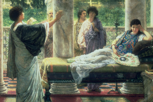 Alma Tadema, Catullus Reading His Poems (1870)